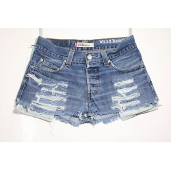 LEVI'S 512 SHORT DESTROY Capo Unico N.165