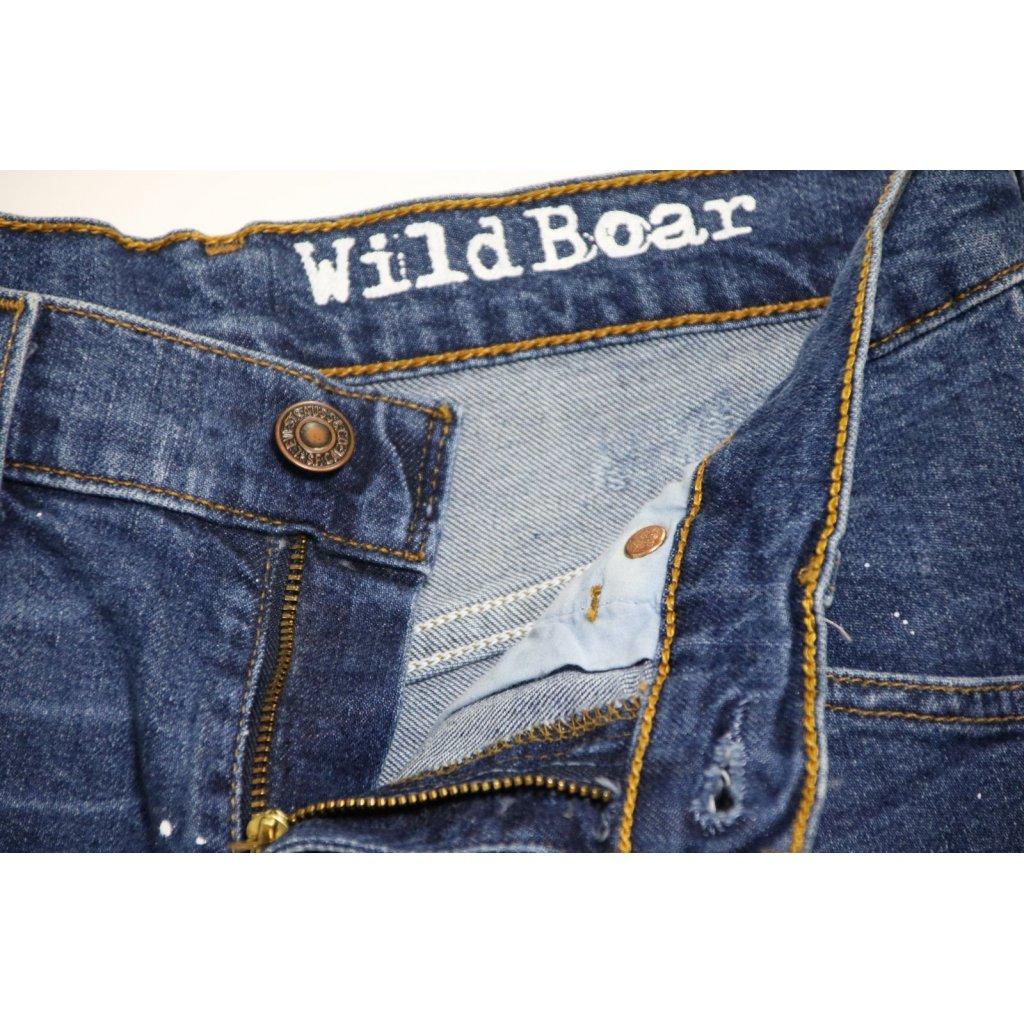 LEVI S 525 SHORT DESTROYED CON VERNICE - Wild Boar 5c86b54278a