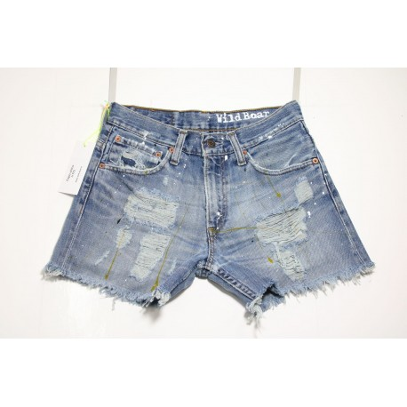 LEVI'S 516 SHORT DESTROYED CON VERNICE